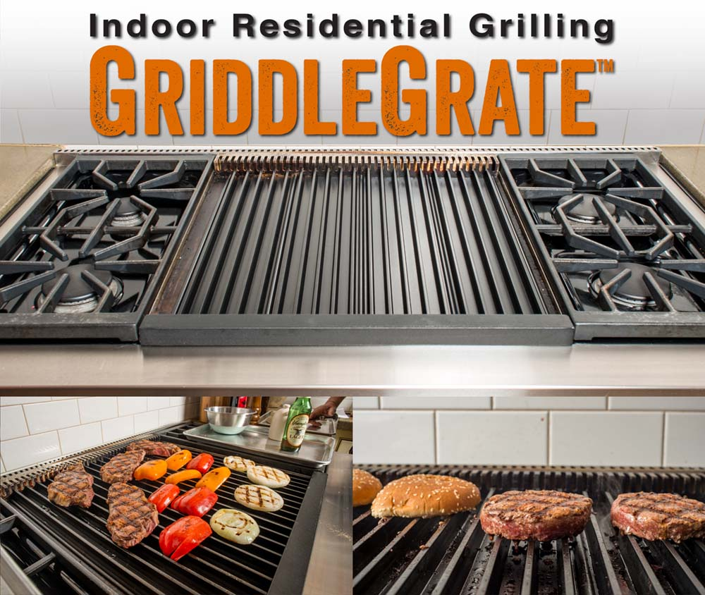Griddle Grate Collage