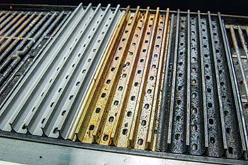 Sequence of GrillGrates Seasoning