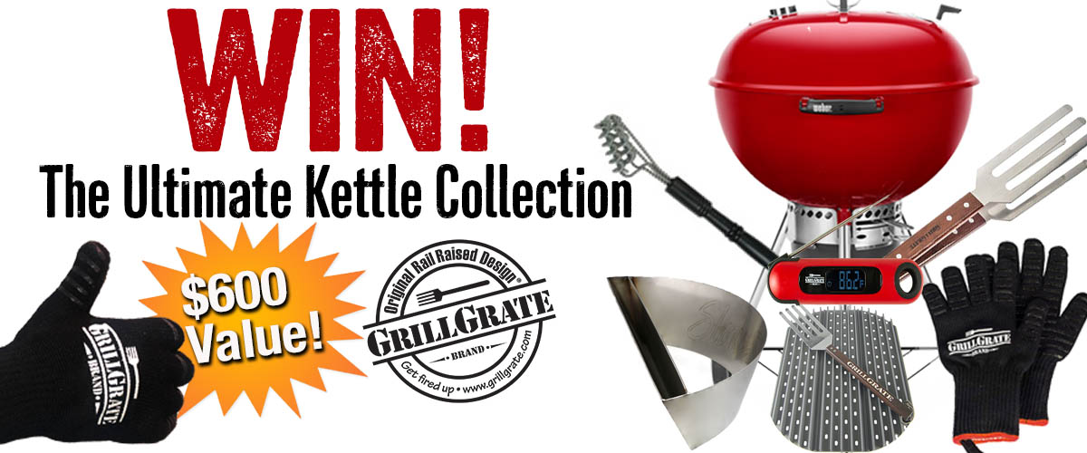 Win a kettle grill