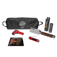 The Precision Grilling Set with the GrillGrate Temp and Time Thermometer