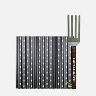 "13.75"" GrillGrate Pellet Grill Sear Station (15.375"" WIDE)"