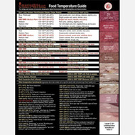"AmazingRibs.com Comprehensive Food Temperature Guide (8.5"" x 11"")"