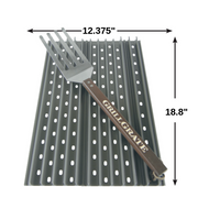 "FACTORY SECOND  HALF SET Replacement 18.8"" GrillGrates for Weber Genesis II 300 Series®"