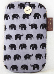 Elephant Design Mobile Phone Pouch