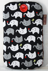 Mobile Phone Pouch with Elephant Design