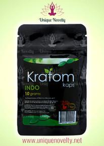 10 Kratom Kaps Indo 10gr Bags