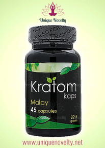 5 Kratom Kaps Malay 45ct Bottles