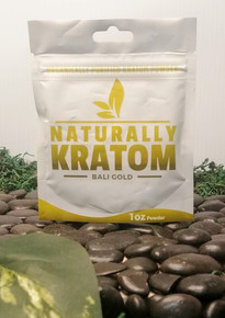 Naturally Kratom Bali Gold - 1 OZ Bag (Any Strain)