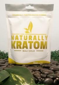 Naturally Kratom Bali Gold - 4 OZ Bag (Any Strain)