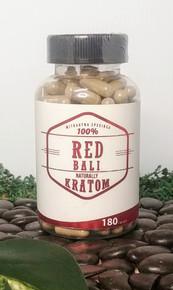 Naturally Kratom Red Bali - 180 Count Capsule (Any Strain)
