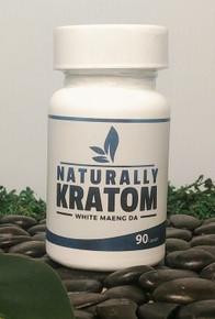 Naturally Kratom White Maeng Da - 90 Count Capsule (Any Strain)