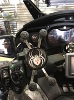 X-Grip Decal- Spider Logo