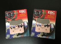 High Performance EBC Fully Sintered Front Brake Pads (All Spyder 2013-17)