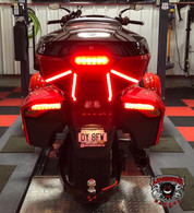 Lamonster Bright Tail Lighter (SPY-261) Fits the Can-Am Spyder F3-T and F3-LTD with top case. #BrightRyder #Lamonster #LamonsterGarage