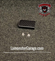 Lamonster Black Dymond Brake Pedal (LG-1009) (Accent Cut) Fits all Can-Am Spyder F3, RT, ST Models
