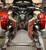 F3 Black Dymond Gripper Mini Floorboards (OEM Peg Mount Only) by Lamonster