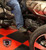 F3 Black Dymond Gripper Mini Floorboards (OEM Peg Mount Only) by Lamonster Shown with the Lamonster Brake Rod Not included