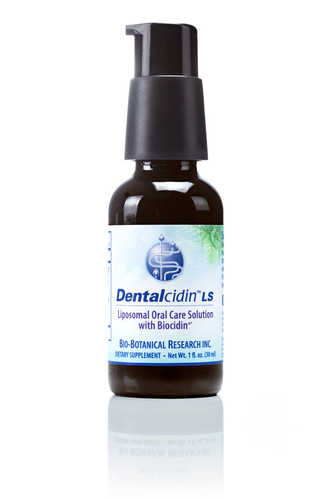 Dentalcidin™LS Liposomal Oral Care Solution with Biocidin®. Assists in Removing Biofilms and Plaque for Healthy Teeth and Gums*