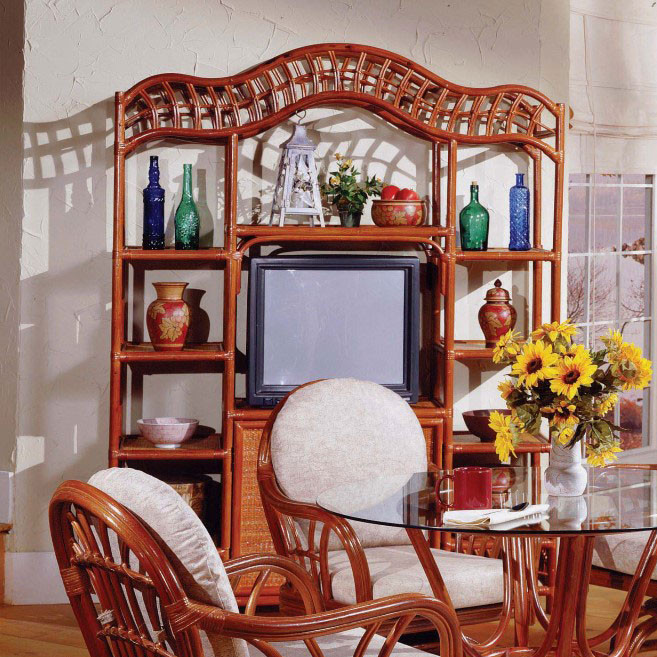 South Sea Rattan New Kauai Indoor Wall Unit Modern