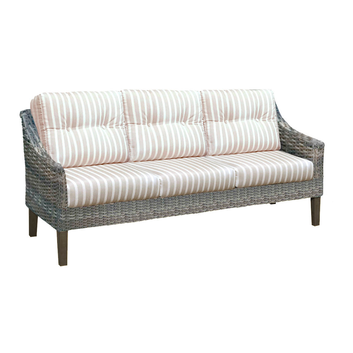 cd06e649b9d02f Forever Patio Aberdeen Wicker 3 Seat Sofa by NorthCape International ...