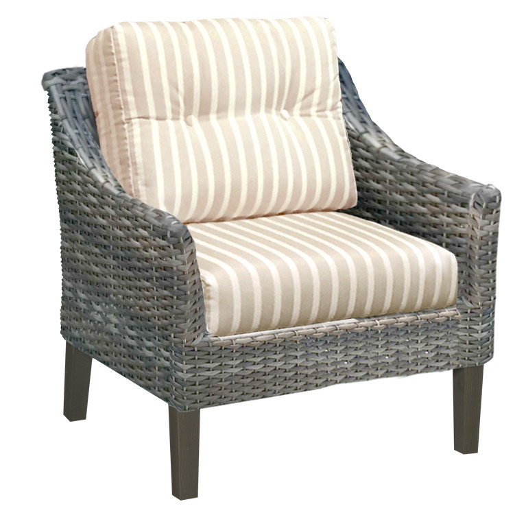 Surprising Forever Patio Aberdeen Wicker Lounge Chair By Northcape International Alphanode Cool Chair Designs And Ideas Alphanodeonline