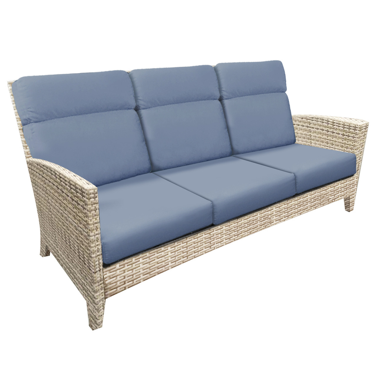 Forever Patio Cavalier Wicker 3 Seat Sofa by NorthCape International