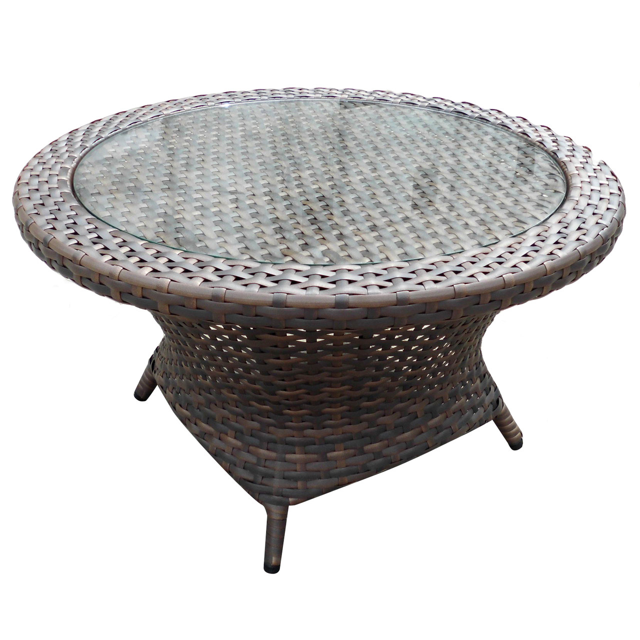- Forever Patio Horizon Wicker Round Coffee Table By NorthCape
