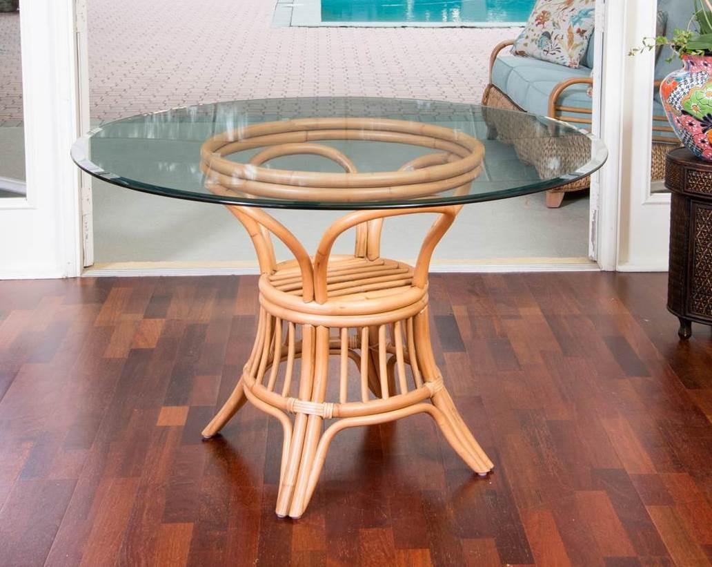 Alexander Sheridan Universal Rattan Indoor Dining Table