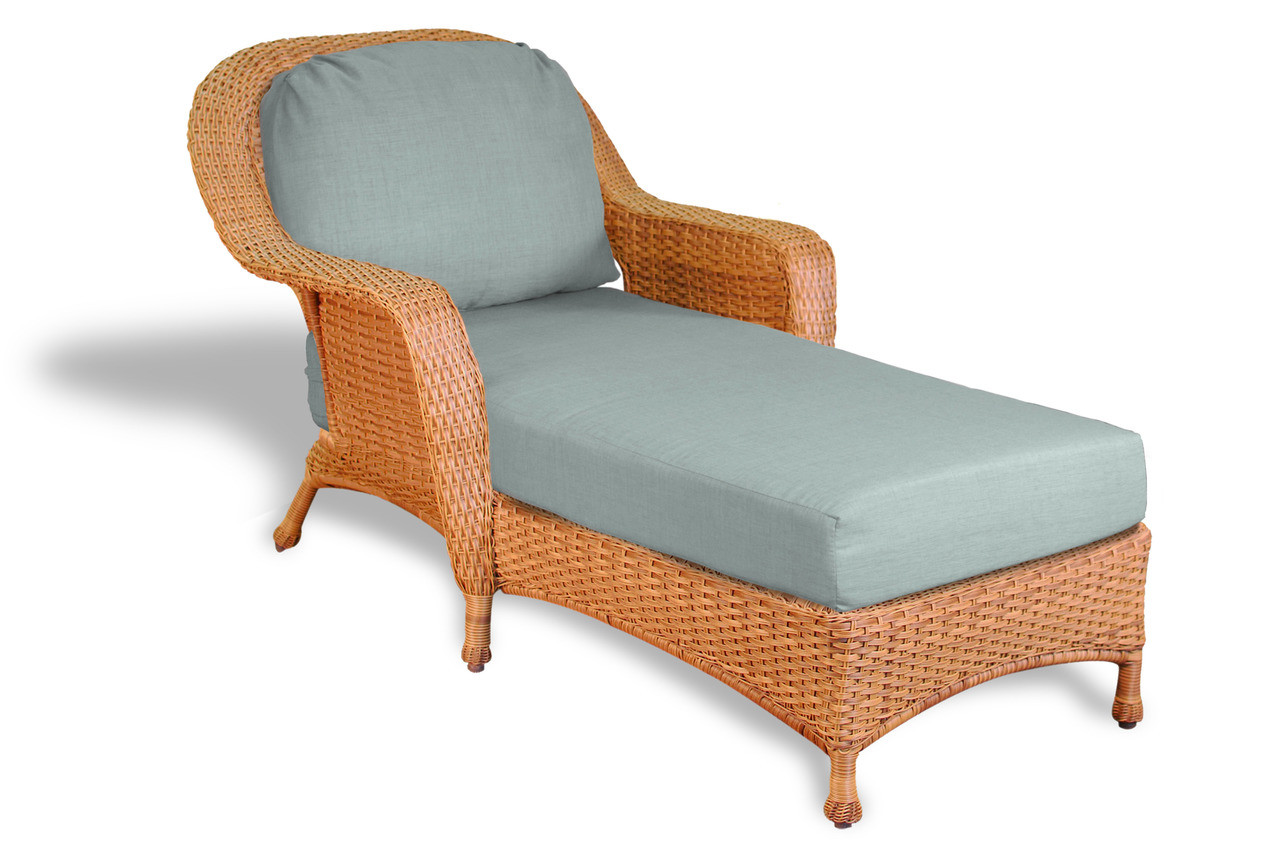 Tortuga Outdoor Sea Pines Resin Wicker Chaise Lounge