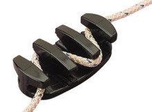 Cleat - SeaDog 043540-1 - Zig Zag Cleat - No Tie Rope Gripper - Heavy Duty Nylon - View 1