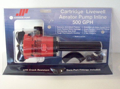 Cartridge Livewell Aerator Pump Inline - Mayfair by Johnson Pump 28503