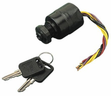Three Position Ignition Switch - SeaDog 420383-1 - Magneto Style - Push to Choke - 6 Wire - View 1
