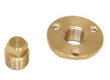 "Garboard Drain & Plug - SeaDog 520040-1 - Machined Bronze - Thread Size 1/2"" NPT - View 1"