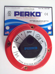 Battery Selector Switch - Perko 8501DP - For Two or More Batteries