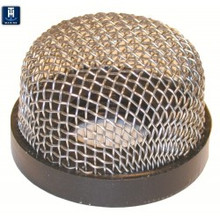 "Aerator Filter Screen - TH Marine AS-1-DP - Stainless Steel Wire Mesh - 3/4""-14 thread - View 1"