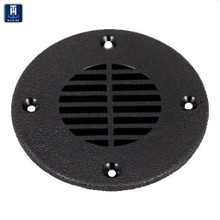 """Floor Drain and Vent Cover for Deck Drains or Ventilation - TH Marine FD-2-DP - Fits 2 1/2"""" Opening -View 1"""