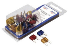 Fuse Kit - SeaDog 445090-1 - ATM Mini Blade Style - Mixed - 30 Total - 5 ea 3, 5, 7.5, 10, 15, 20 amp - View 1