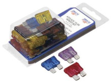 Fuse Kit - SeaDog 445190-1 - ATO/ATC Style - Mixed - 30 Total - 5 ea 3, 5, 7.5, 10, 15, 20 amp - View 1
