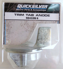Trim Tab Anode - Mercury, Mariner, Force - Quicksilver 98432Q6