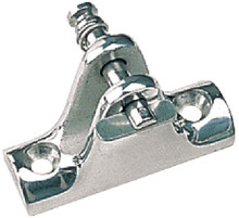 Concave Base Deck Hinge - SeaDog 270245-1- Removable Pin - Stainless - View 1