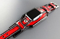 Red Apple Watch Cuff