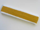 Gold with white trim headbands sports pro