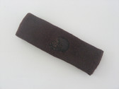 Brown custom sport sweat head band terry