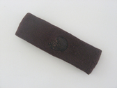 Brown custom sport sweat head band terry