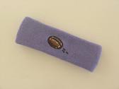 Lavender custom terry head band sports sweat