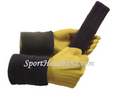 Dark purple sports sweat headband 4inch wristbands set