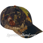 Turkey Embroidery Mossgreen Camouflage Cap