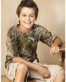 Realtree Camouflage Youth Short Sleeve T-Shirt