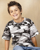 Woodland Youth Camouflage T-Shirt