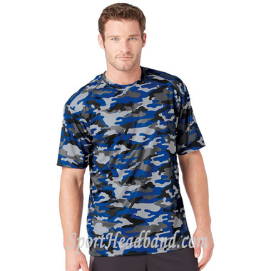 Sport Adult Unisex Short Sleeve Camo Tee Shirt